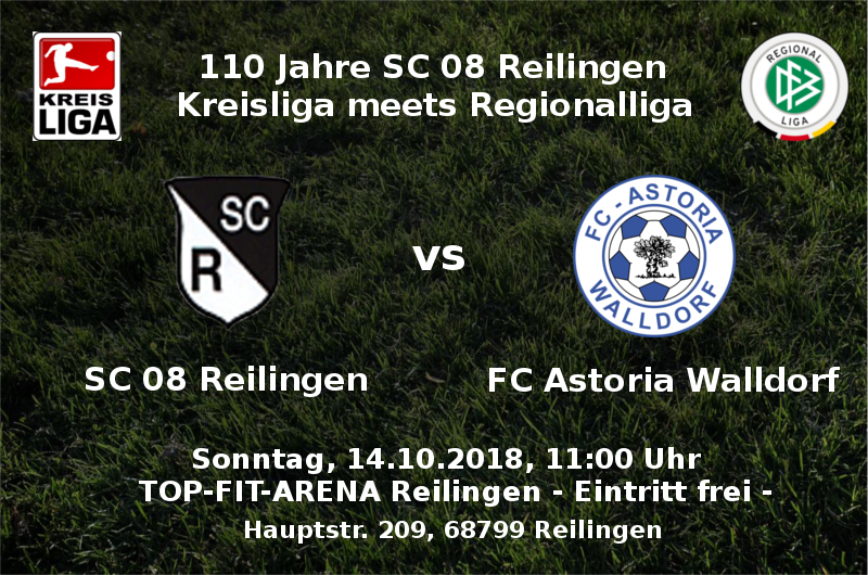 SC 08 vs FC Astoria Walldorf