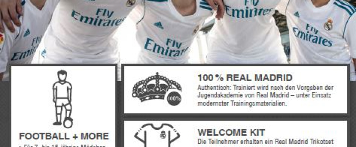 Aktion Real Madrid Haupt